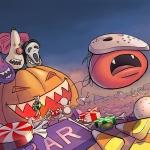 Vampire Tomato Halloween