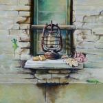 Still Life Study with Lantern