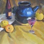 Teapot Still Life Study