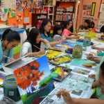 FFAA_SummerCamp_2017_Painting_Session